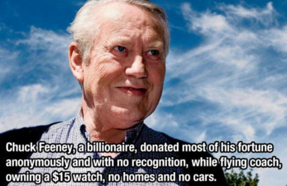 Chuck Feeny - A Billionaire, A Philanthropist, An Inspiration